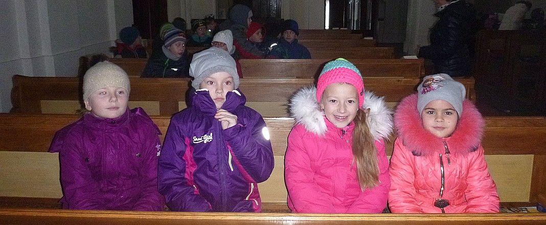 Návštěva místního kostela